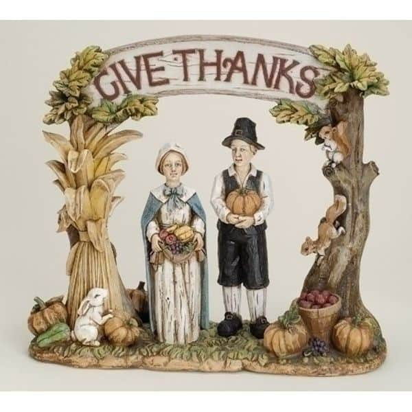Roman Give Thanks Pilgrim #26771