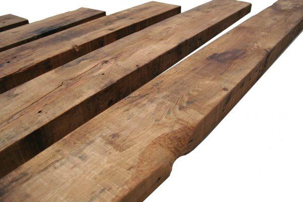 "Rustic Farmhouse Wood Mantel Shelf 36""L x 3"" Thick x 8"" Wide Coffee 1"