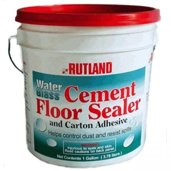 Rutland 146 WATER GLASS adhesive and concrete sealer Gal.