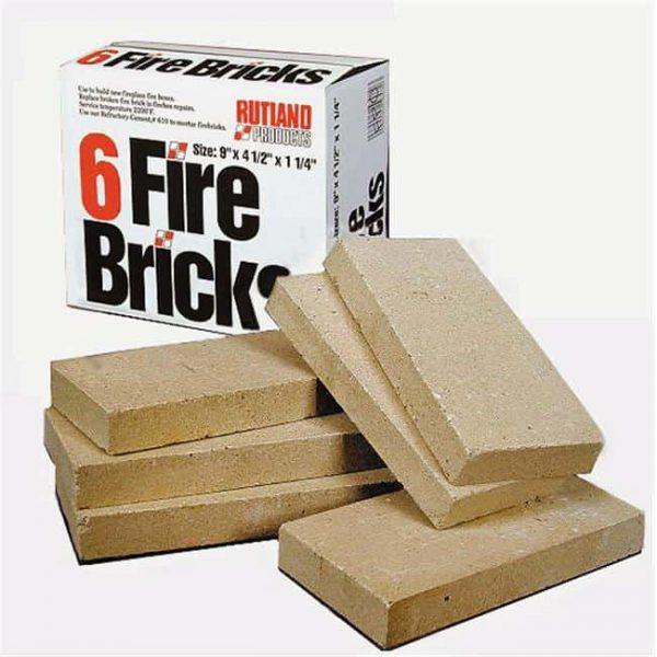 "Rutland Replacement Firebrick 4-1/2 "" W X 1-1/4 "" H"
