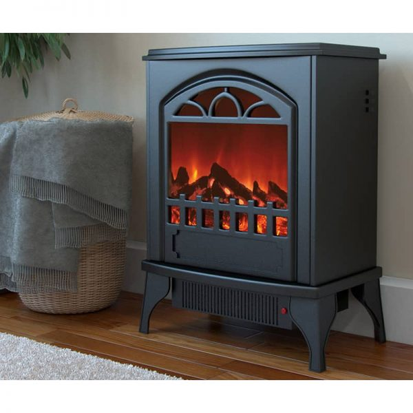 Ryan Rove Phoenix Electric Fireplace Free Standing Portable Space Heater Stove 1