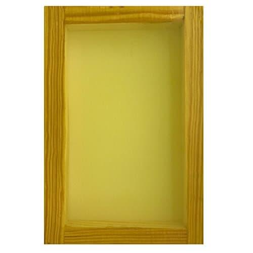 SILK SCREEN FRAME for SCREEN PRINTING (12x16) mesh White or Yellow (125 mesh) 1