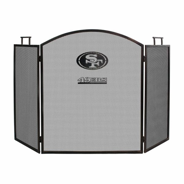 San Francisco 49ers Imperial Fireplace Screen - Brown