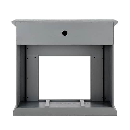 Sanstone Color Changing Media Fireplace – Gray 5