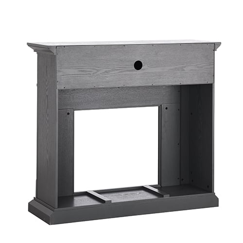 Sanstone Color Changing Media Fireplace – Gray 7