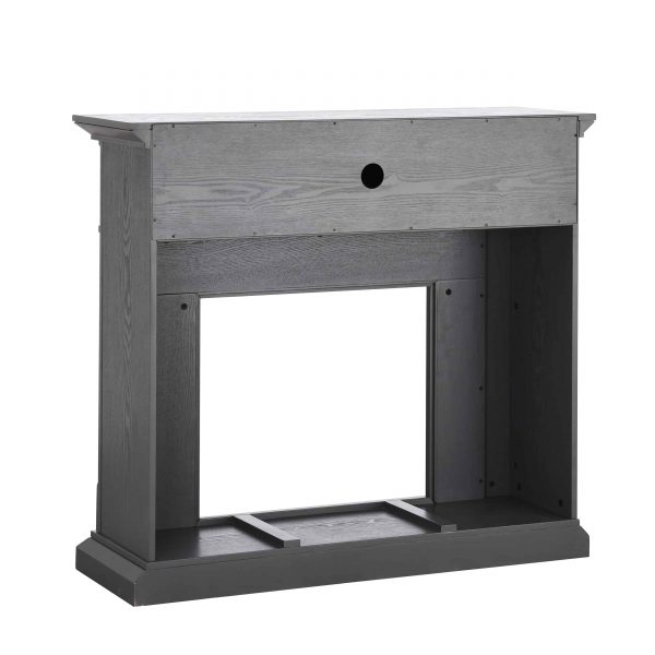 Sanstone Smart Media Fireplace - Gray 1