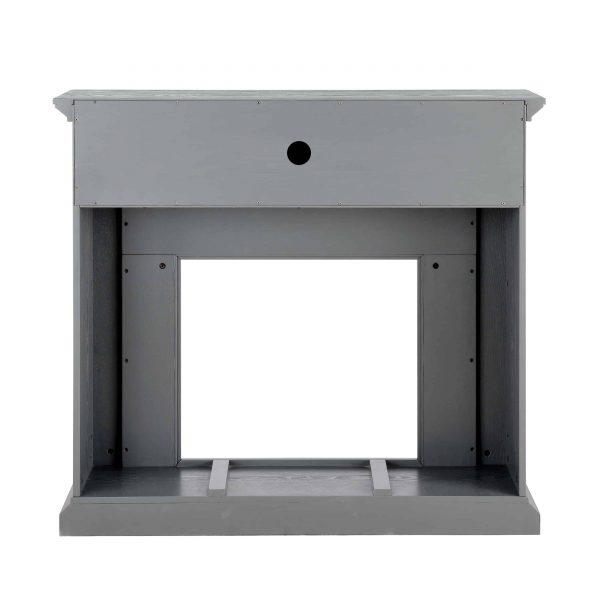 Sanstone Smart Media Fireplace - Gray 8