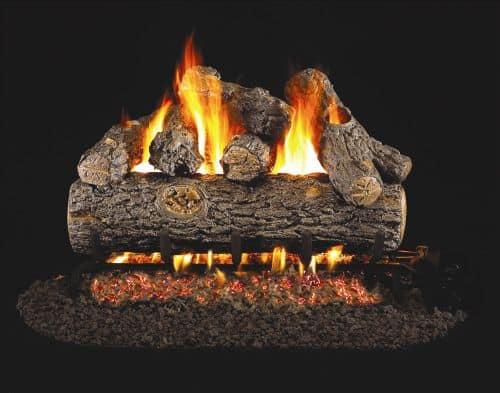See Thru Golden Oak Designer Plus Gas Logs - 12 Inch