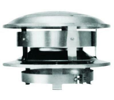 Selkirk 206800 Sure Temp Chimney Caps Round Topper 6 Inch