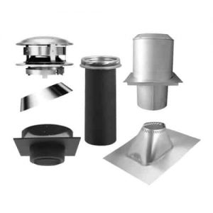 "Selkirk 6"" Ultra-Temp Flat Ceiling Support Kit"