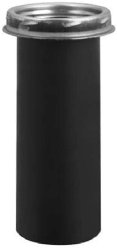 "Selkirk 8T-DSAC 8"" Black Matte Dripless Smoke Pipe Apapter With Coupler 1"
