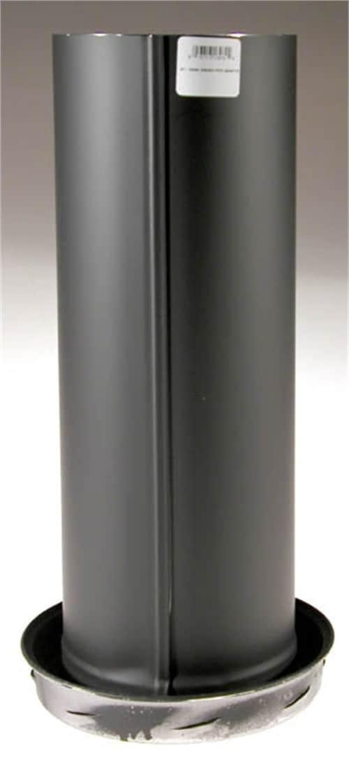 "Selkirk 8T-DSAC 8"" Black Matte Dripless Smoke Pipe Apapter With Coupler 2"