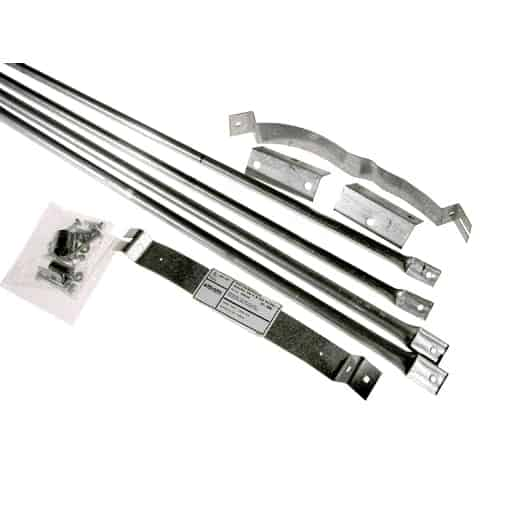 "Selkirk 8T-RBK 8"" Stainless Steel Roof Brace Kit 1"