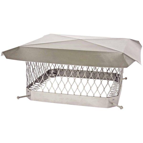 Shelter Pro Single-Flue Stainless Steel Chimney Cap