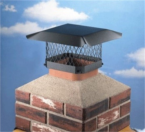 Shelter SCLK Stainless Steel Chimney Cap Leg Kit 3