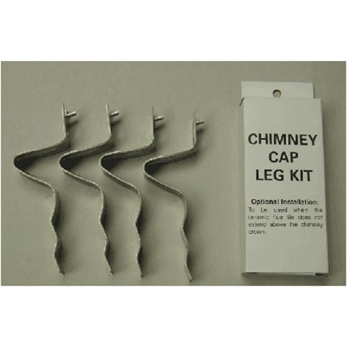 Shelter SCLK Stainless Steel Chimney Cap Leg Kit 4