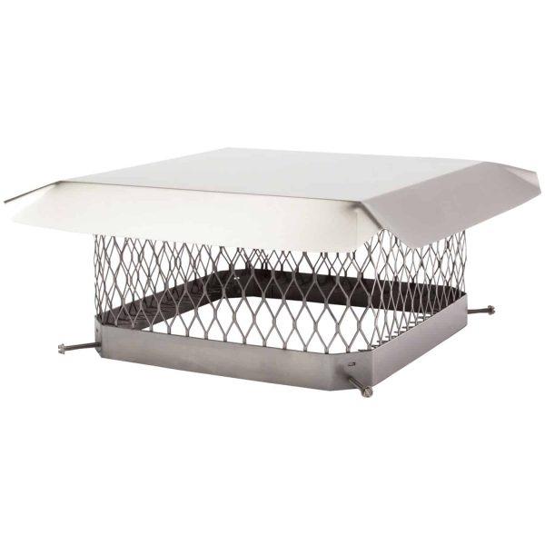 "Shelter SCSS1313 Single-Flue Stainless Steel Chimney Cap (13"" x 13"")"