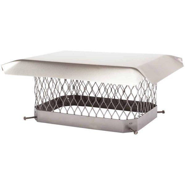 Shelter Single-Flue Stainless Steel Chimney Cap