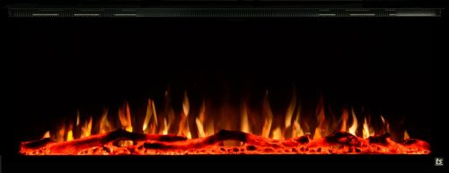 """Sideline Elite 50"""" Recessed Electric Fireplace 1"""