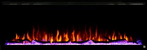"Sideline Elite 60"" Recessed Electric Fireplace"