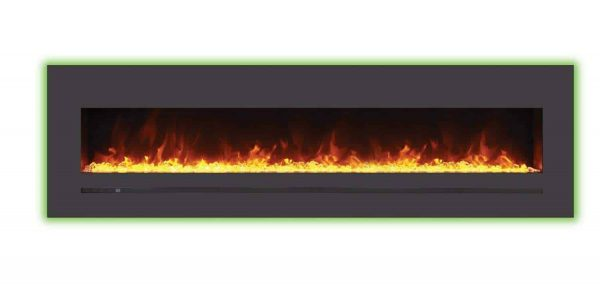 Sierra Flame Electric Fireplace with Surround