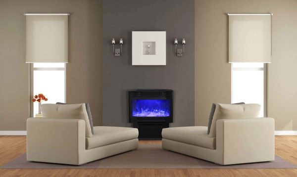 Sierra Flame Freestanding Electric Fireplace 1