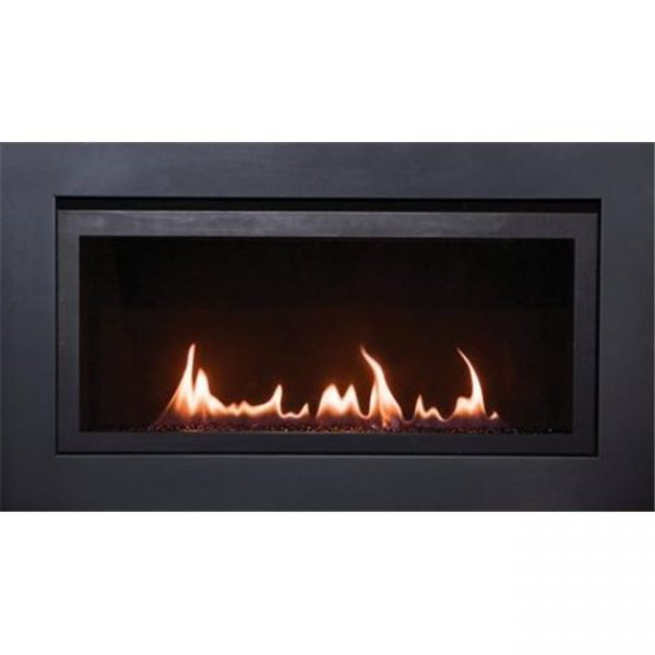 Sierra Flame LANGLEY-36-NG 36 in. Langley Linear Direct Vent Gas Fireplace - Millivolt Ignition & Natural Gas