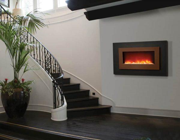 "Sierra Flame Linear Electric Fireplace, 40"" 1"