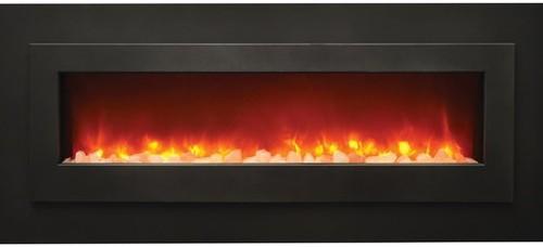 "Sierra Flame Linear Electric Fireplace, 62"" 1"