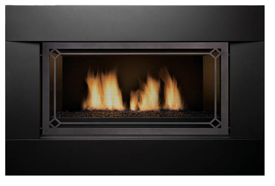 Sierra Flame NEWCOMB-36-LP 36 in. Newcomb Linear Direct Vent Gas Fireplace - Liquid Propane 1
