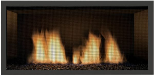Sierra Flame NEWCOMB-36-LP 36 in. Newcomb Linear Direct Vent Gas Fireplace - Liquid Propane 2