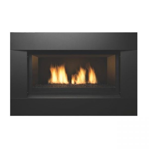 Sierra Flame NEWCOMB-36-LP 36 in. Newcomb Linear Direct Vent Gas Fireplace - Liquid Propane