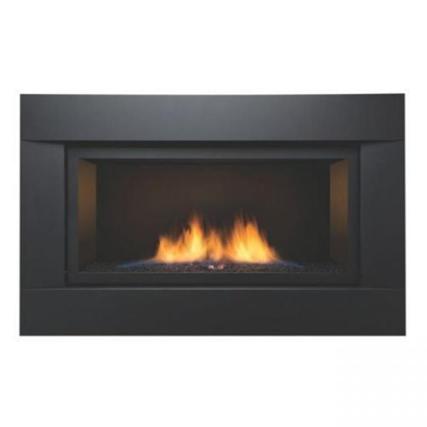 Sierra Flame PALISADE-36-DELUXE-NG 36 in. See-Thru Palisade Deluxe Linear Direct Vent Gas Fireplace - Natural Gas