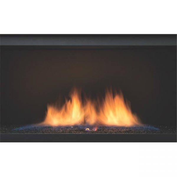 Sierra Flame PALISADE-36-LP 36 in. See-Thru Palisade Linear Direct Vent Gas Fireplace - Liquid Propane