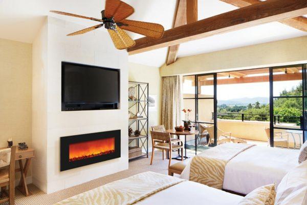 "Sierra Flame Zero Clearance Electric Fireplace, 36"" 1"