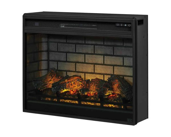 Signature Design by Ashley Entertainment Accessories Black LG Fireplace Insert Infrared 2