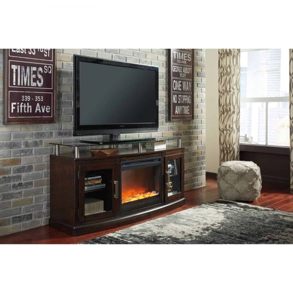 Signature Design by Ashley Entertainment Accessories Fireplace Insert Glass/Stone 5