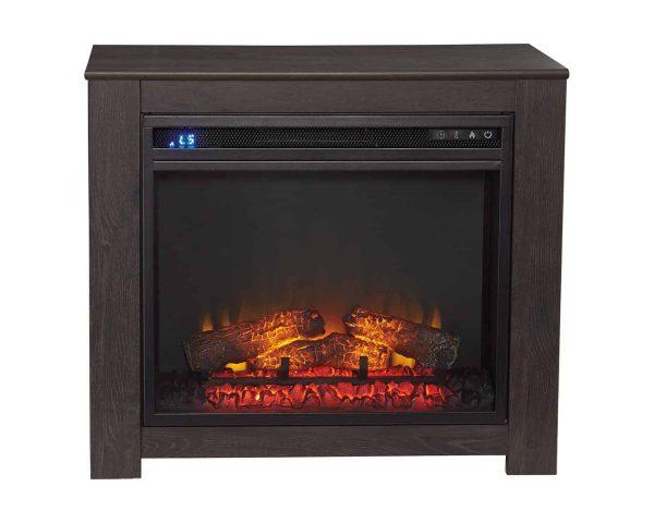 Signature Design by Ashley Harlinton Two-tone Fireplace Mantel w/FRPL Insert 2