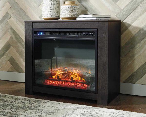 Signature Design by Ashley Harlinton Two-tone Fireplace Mantel w/FRPL Insert 5