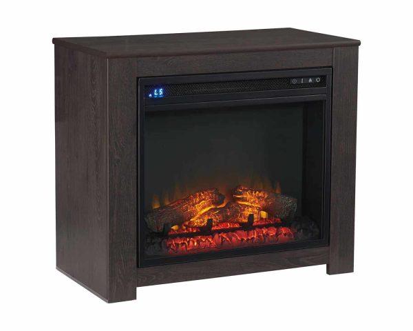 Signature Design by Ashley Harlinton Two-tone Fireplace Mantel w/FRPL Insert