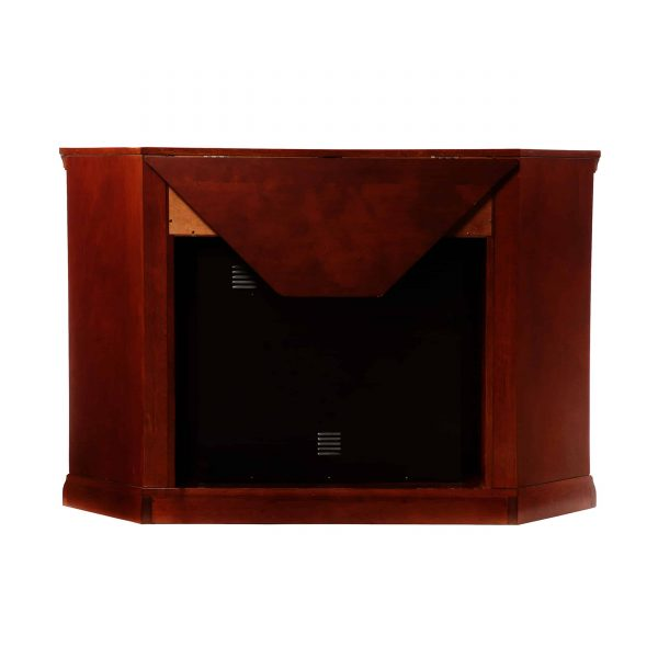 Silverado Color Changing Convertible Fireplace - Cherry 7
