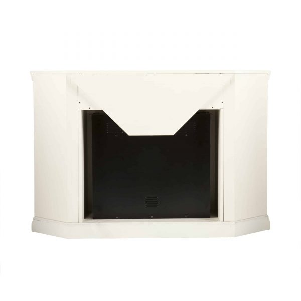 Silverado Color Changing Convertible Fireplace - Ivory 9