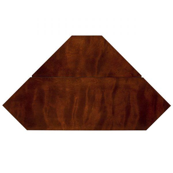 Silverado Smart Corner Fireplace w/ Storage – Brown Mahogany 6