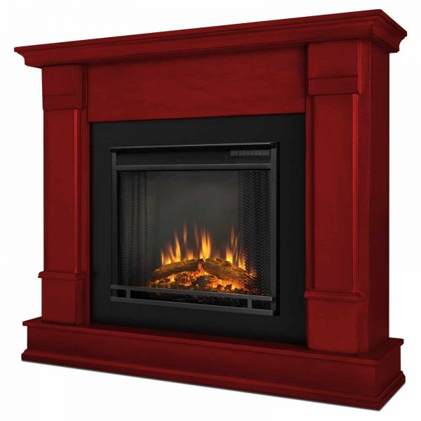 Silverton Electric Fireplace in Black by Real Flame 3