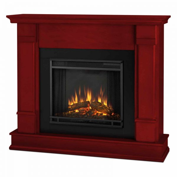 Silverton Electric Fireplace in Black by Real Flame 6