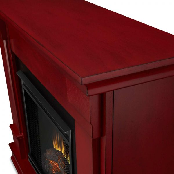 Silverton Electric Fireplace in Black by Real Flame 7