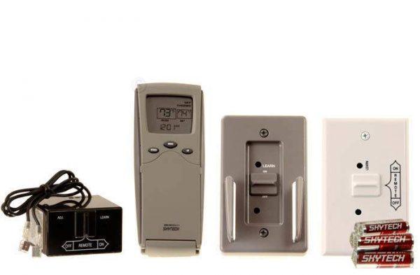 Skytech 3301 Timer/Thermostat Fireplace Remote Control 1