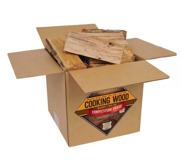 Smoak Firewood's Cooking Wood Mini Logs (8inch pieces 25-30lbs) - White Oak