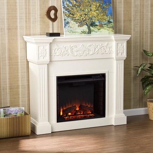 Southern Enteprises Jordan Electric Fireplace
