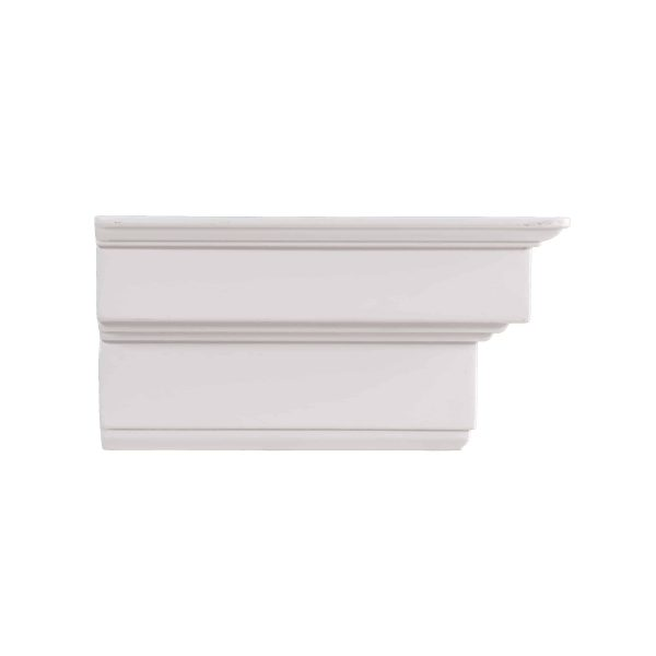 Southern Enterprises Accar Fireplace Mantel Shelf, Traditional Style, White 1